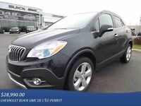 2015 BUICK ENCORE LUXE, AWD, CUIR, TOIT, CAMERA, OUVERT 7 JOURS