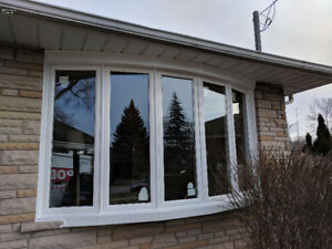 Replacement 6-panels Window Vinyl Bow  Installation