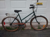 Vintage Women's Free Spirit Comfort Cruiser Bike – 3 speed
