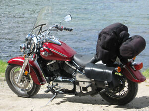 2002 Vulcan 800 Classic with lots of extras