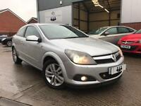 2008/08 Vauxhall Astra SXI 1.4i 16v Sport Hatch Coupe Manual Petrol Silver