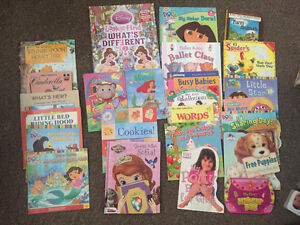 25 books good for girls ages 2-4yrs