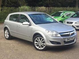 2007 Vauxhall Astra 1.9CDTi 16v ( 150ps ) Design 5 Door Silver DIESEL SUPERB!!!!