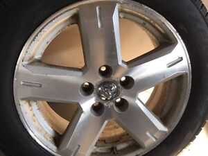Winter tires and rims Pirelli 235/55 R19 Dodge Journey London Ontario image 3