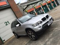 X5 3.0d Sport Auto Silver Panoramic Roof SAT NAV