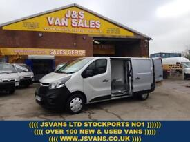 2015 15 VAUXHALL VIVARO 2900 L2H1 LONG WHEEL BASE 2015/15 REG 1 OWNER DIESEL