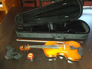 Stefka Hristova 3/4 Size Violin - With Bow and Hard Case
