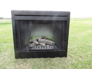 36 inch fireplace insert