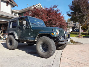 2000 Jeep Wrangler TJ Coupe (2 door)