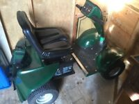 Grasshopper Junior Golf Buggy, Batteries, Charger and wooden ramps
