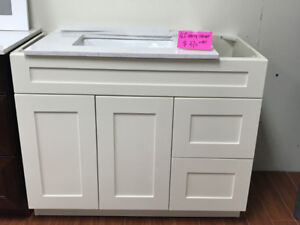 "36"" solid wood and Modern style vanities on SALE !!"