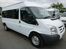 2008 Ford Transit 350 100ps LWB 15 seat Minibus, VERY LOW MILES, STUNNING BUS