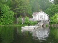 Cottage on THE FRENCH RIVER  FOR SALE