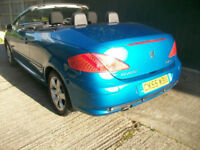 Peugeot 307 CC 2.0 16v ( 140bhp ) Coupe 2005MY S CONVERTIBLE ELECTRIC HARD TOP
