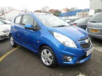 Chevrolet Spark 1.2 Lt 5dr PETROL MANUAL 2010/10