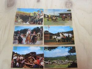 FRONTIER TOWN POST CARDS