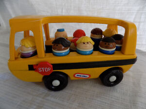 Vintage Little Tikes School Bus