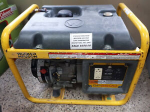 WACKER NEUSON GP2500 GAS GENERATOR ON SALE FOR $550