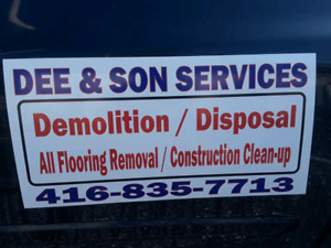 AFFORDABLY PRICED DEMOLITION AND FLOORING REMOVAL SERVICES