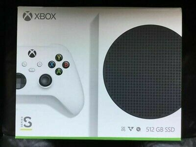 Microsoft Xbox Series S 512GB All-Digital Video Game Console White. New. Sealed
