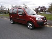 Fiat Doblo 1.4 8V DYNAMIC DISABLED CONVERTED REDUCED (red) 2009