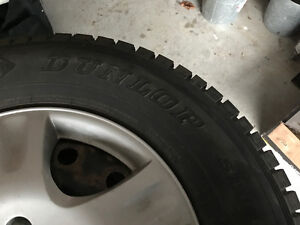 235 70R 16 snow tires. Steel rims available.
