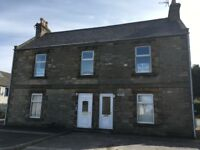 Spacious 2 bed flat for rent Portgordon