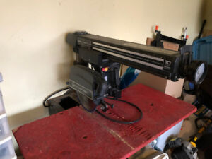 "10"" Radial Arm Saw - Craftsman"