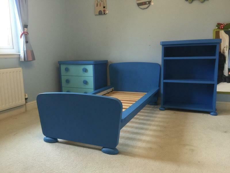 Ikea Mammut Bed Book Case Amp Chest Of Drawers Child Bedroom