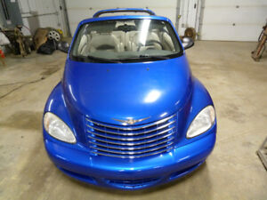 2005 Pt Cruiser Convertible Gt High Output