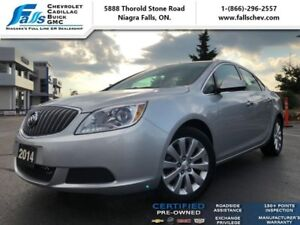 "2014 Buick Verano Base  17""ALLOYS,NO ACCIDENTS,REMOTE START"