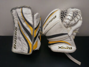 "Bauer ""Reflex"" Youth/Adult Goalie Glove & Blocker"