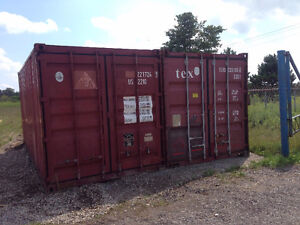20' Shipping Container Rental/Storage London Ontario image 1