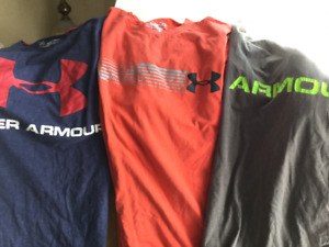 UNDER ARMOUR MENS T SHIRTS SIZE SMALL