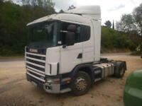 Left hand drive Scania 124G, 4x2 tractor unit, Man gearbox, Man pump & injectors