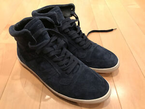 Size 10 Hugo Boss high top shoes