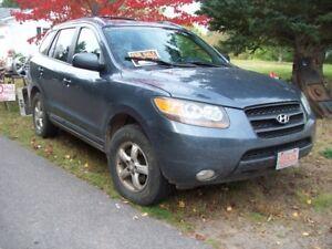 2007 Hyundai suv AWD 3,3