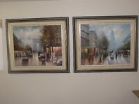 TODAY clearing sale of  pictures and art