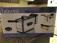 Bravetti Professional, Stainless Steel Deep Fryer, 3L