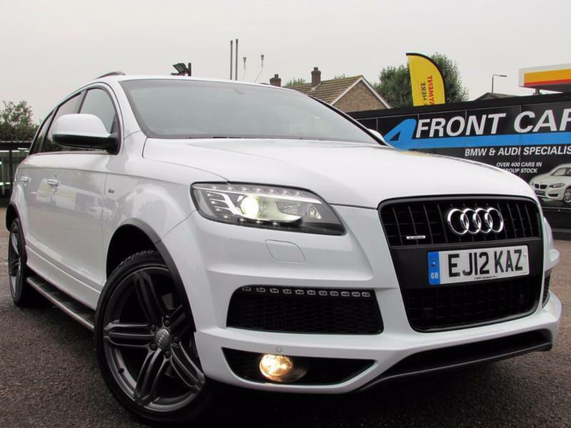 2012 audi q7 3 0 tdi quattro s line plus automatic diesel 4x4 diesel in eltham london gumtree. Black Bedroom Furniture Sets. Home Design Ideas