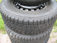 Winter Tires fits on Dodge journey and Grand Caravan