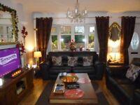 ITALIAN LEATHER (SiSi-Itala) Suite, 3 & 2 Seater sofas + 1 Armchair.