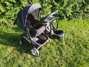 Travel system (Stroller and car seat) for sale.