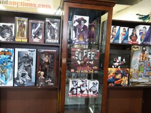 COLLECTIBLES-BATMAN-LIQUIDATION AUCTION MONDAY MARCH 19 6:30PM
