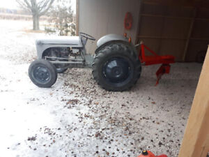**Ford 8N Tractor w 72inch snow blade works good $2500 obo
