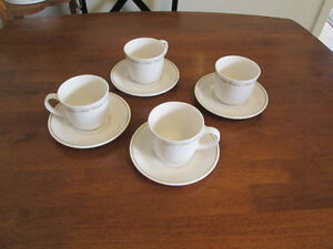 ROYAL DOULTON  Fine China Cups and Saucers Set of four. Kingston Kingston Area image 2