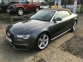 image for 2013 Audi A5 2.0 TDI S LINE SPECIAL EDITION 2d 141 BHP Convertible Diesel Manual