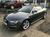 2013 Audi A5 2.0 TDI S LINE SPECIAL EDITION 2d 141 BHP Convertible Diesel Manual
