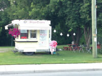 Icecream \Belgian Crepe \Waffle Concession Trailer and Business