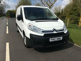 2013 63 CITREON DISPATCH 1000 1.6 HDI 90 BHP SWB TWIN SLD 1 COMPANY OWNER
